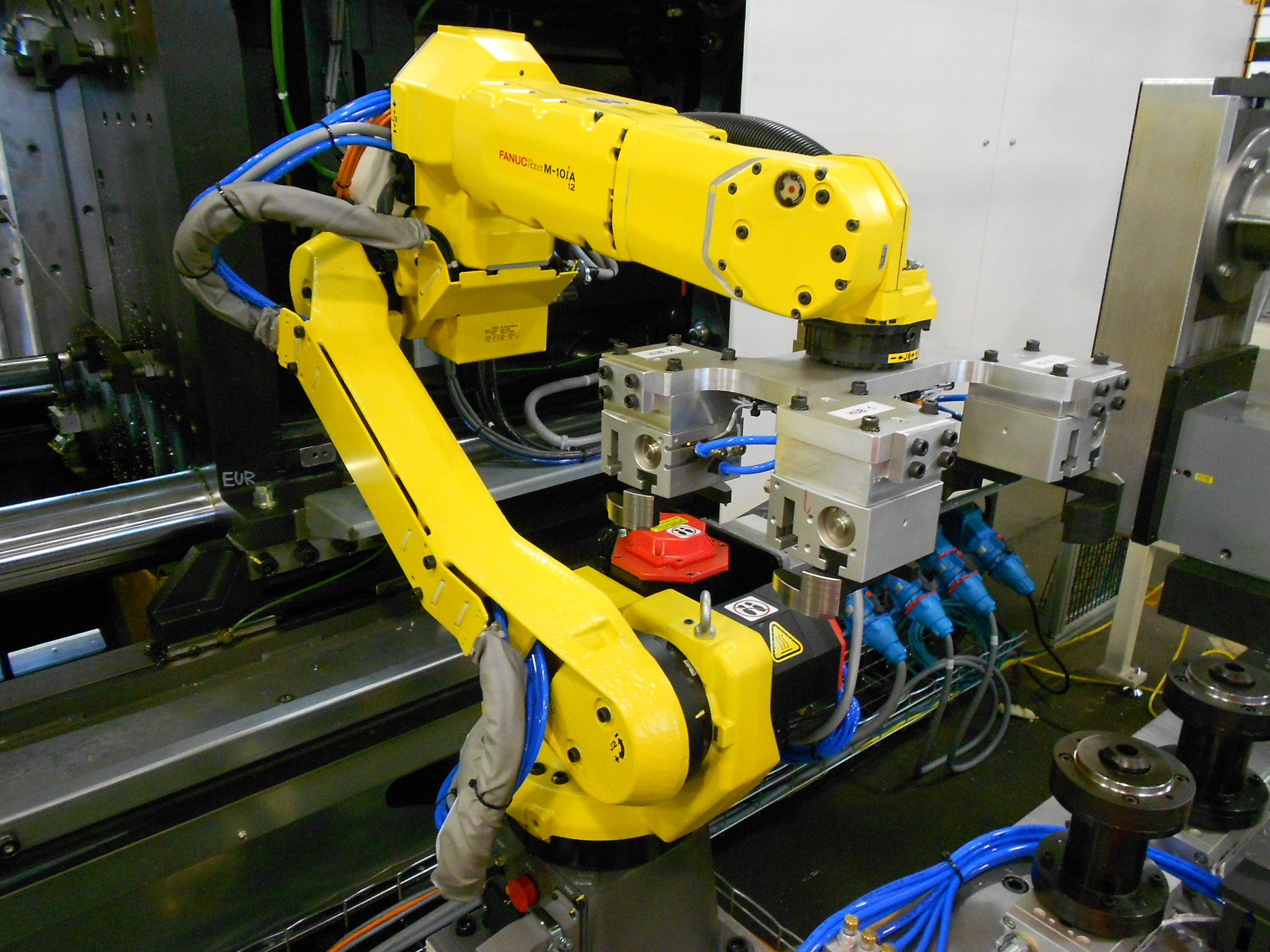 Robot - Mold Cell Integration