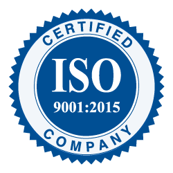 Iso 900:2015 Certified